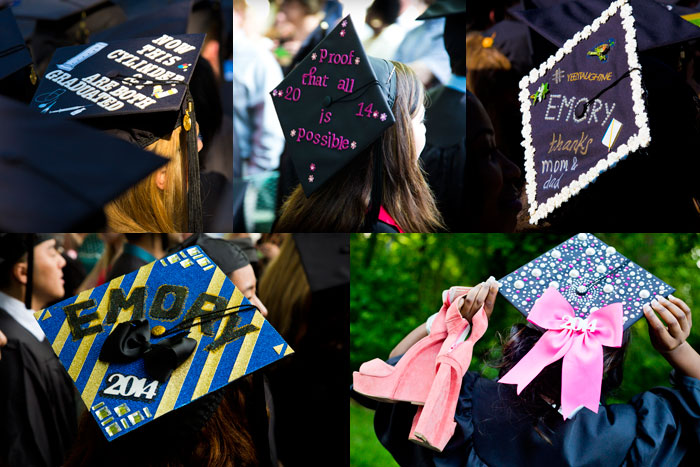 Nearly 4,000 graduates gathered on the Emory Quadrangle on a clear, sunny morning for a day of celebration and completion.