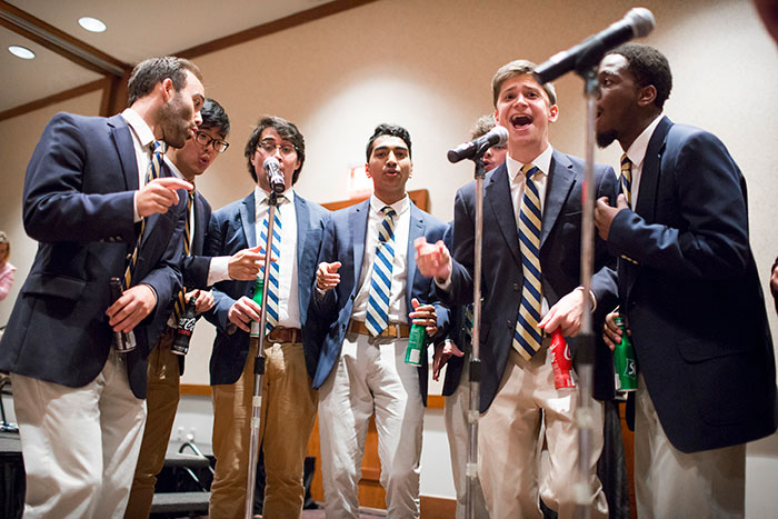 Students perform at the 2017 Coca-Cola Toast.
