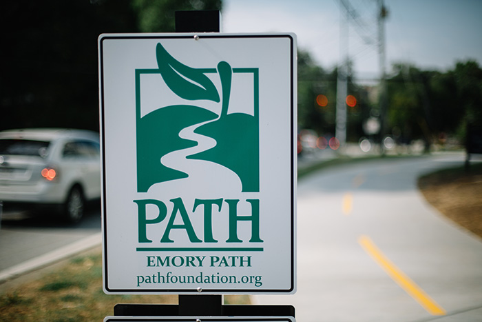A PATH sign
