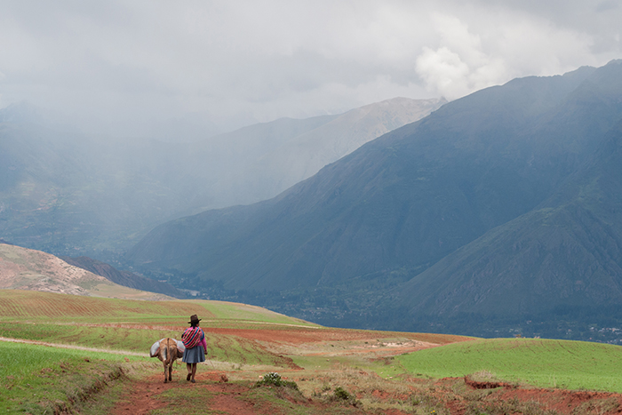 "First place: ""Mountains near Urubamba, Peru."" Photo by Photo by Photo by Rebecca Leff."