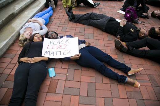 Emory 'die-in' joins nationwide protests | Emory