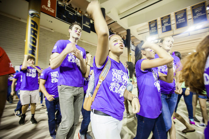 First-year students compete at Songfest