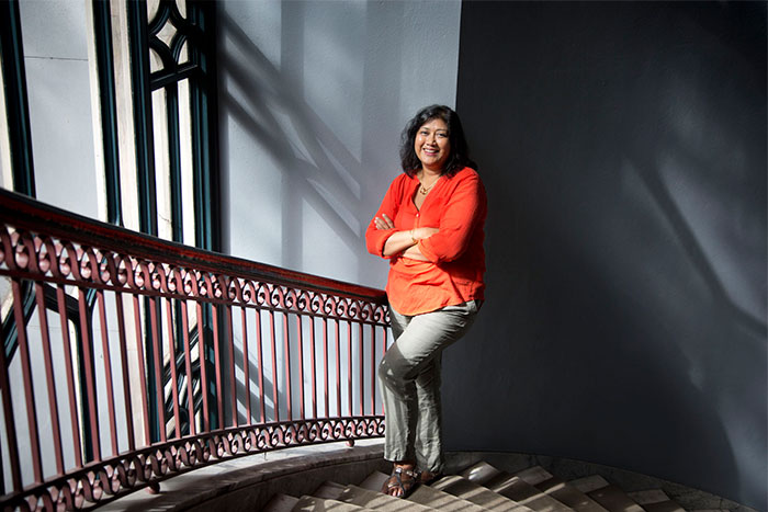 Falguni Sheth, associate professor of women's studies