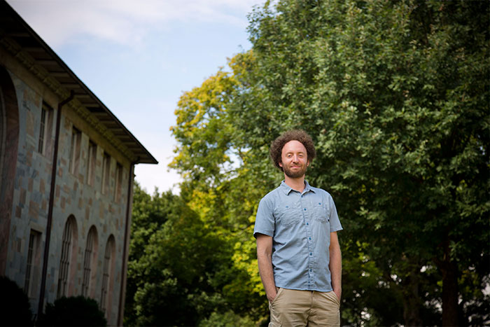 Daniel Weissman, assistant professor of physics