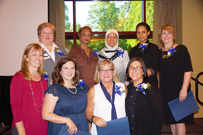 Nursing Excellence Award honorees from Emory Johns Creek Hospital