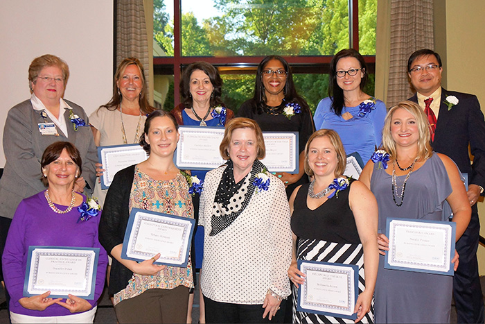 Nursing Excellence Award honorees from Emory University Hospital / Emory University Hospital at Wesley Woods