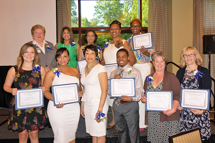 Nursing Excellence Award honorees from Emory University Hospital Midtown