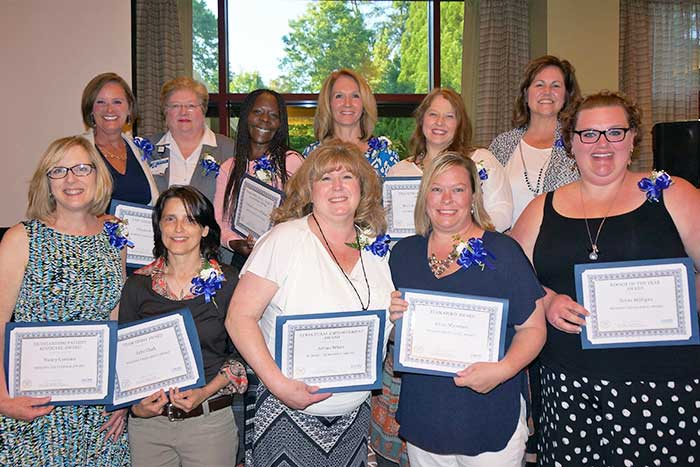 Nursing Excellence Award honorees from The Emory Clinic