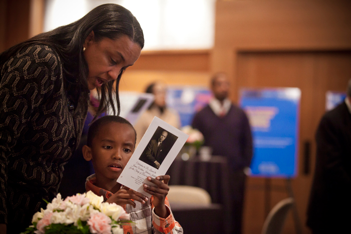 The Emory community gathered Feb. 9 to celebrate the launch of the James Weldon Johnson Institute.