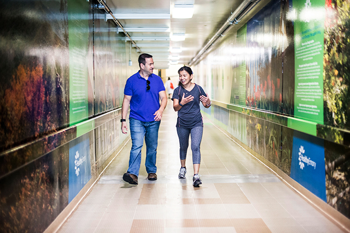 Employees of Emory University and Emory Healthcare collectively walked 1.37 million miles, climbed 2.98 million flights of stairs and took over 3 billion total steps for the 2016 Move More Challenge.