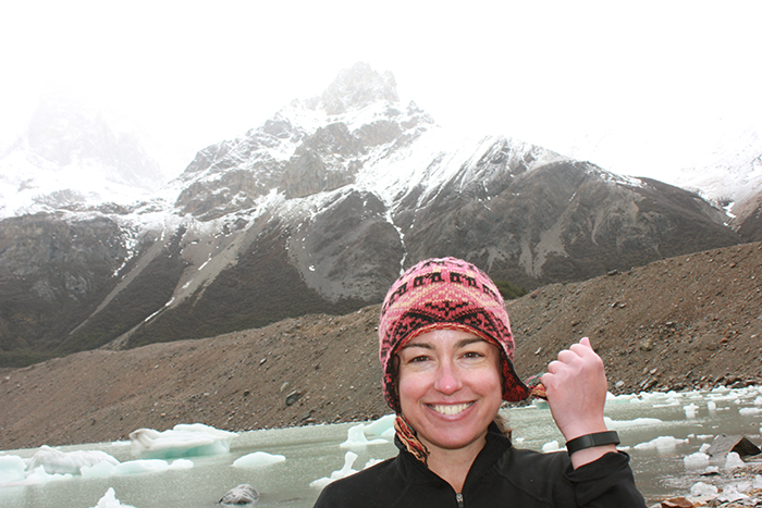 Lida Valentine, a clinical pharmacist at Emory University Hospital Midtown, wore her Fitbit and participated in the Move More Challenge while hiking in South America.