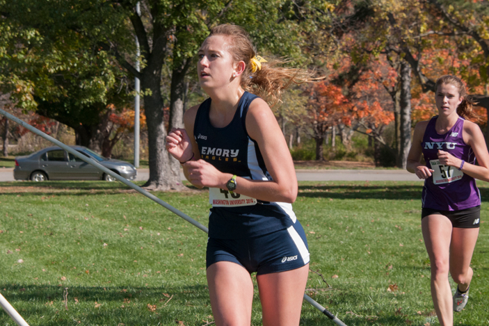 Women's cross country runner Elise Viox