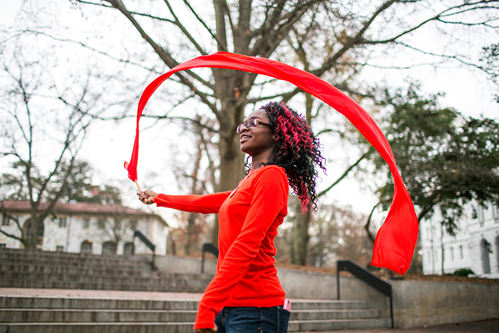 The dance troop developed a piece that addresses the AIDS epidemic in metro Atlanta.
