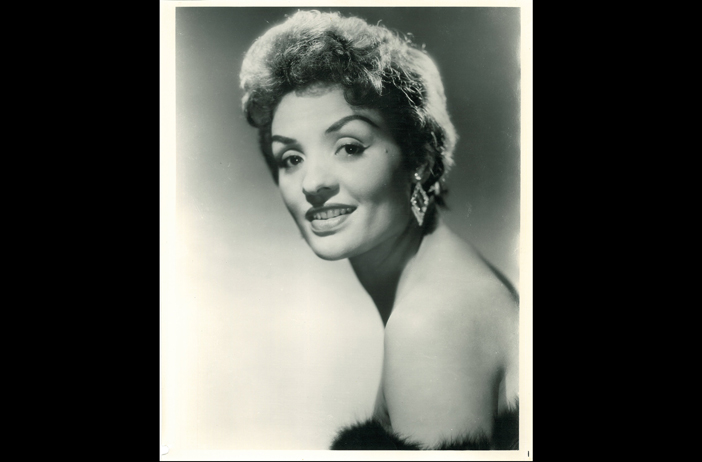 Ophelia DeVore was a model-turned-entrepreneur, launching a modeling agency, charm school and cosmetics line, and taking the helm of the Columbus Times in Columbus, Ga., after her husband's death in 1972. She remains the paper's owner today. Credit: Ophelia DeVore papers, MARBL, Emory University.