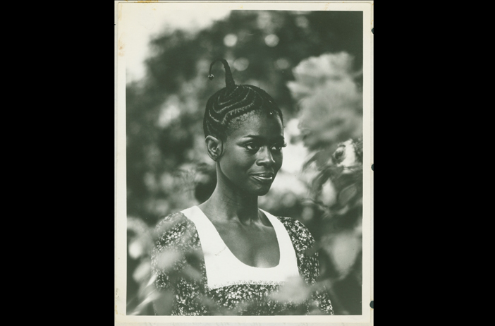 Cicely Tyson in an undated photo. Credit: Ophelia DeVore papers, MARBL, Emory University. (not a modeling photo)