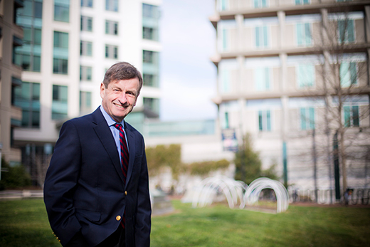 James W. Curran, dean of the Rollins School of Public Health