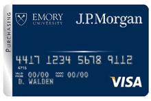 purchasing card - Visa Corporate Card