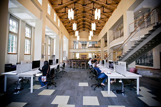 Oxford College Library Academic Commons Opens Emory