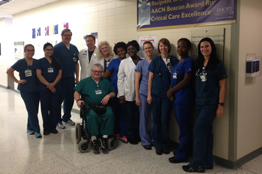 Emory University Hospital Midtown Medical Icu Wins Beacon