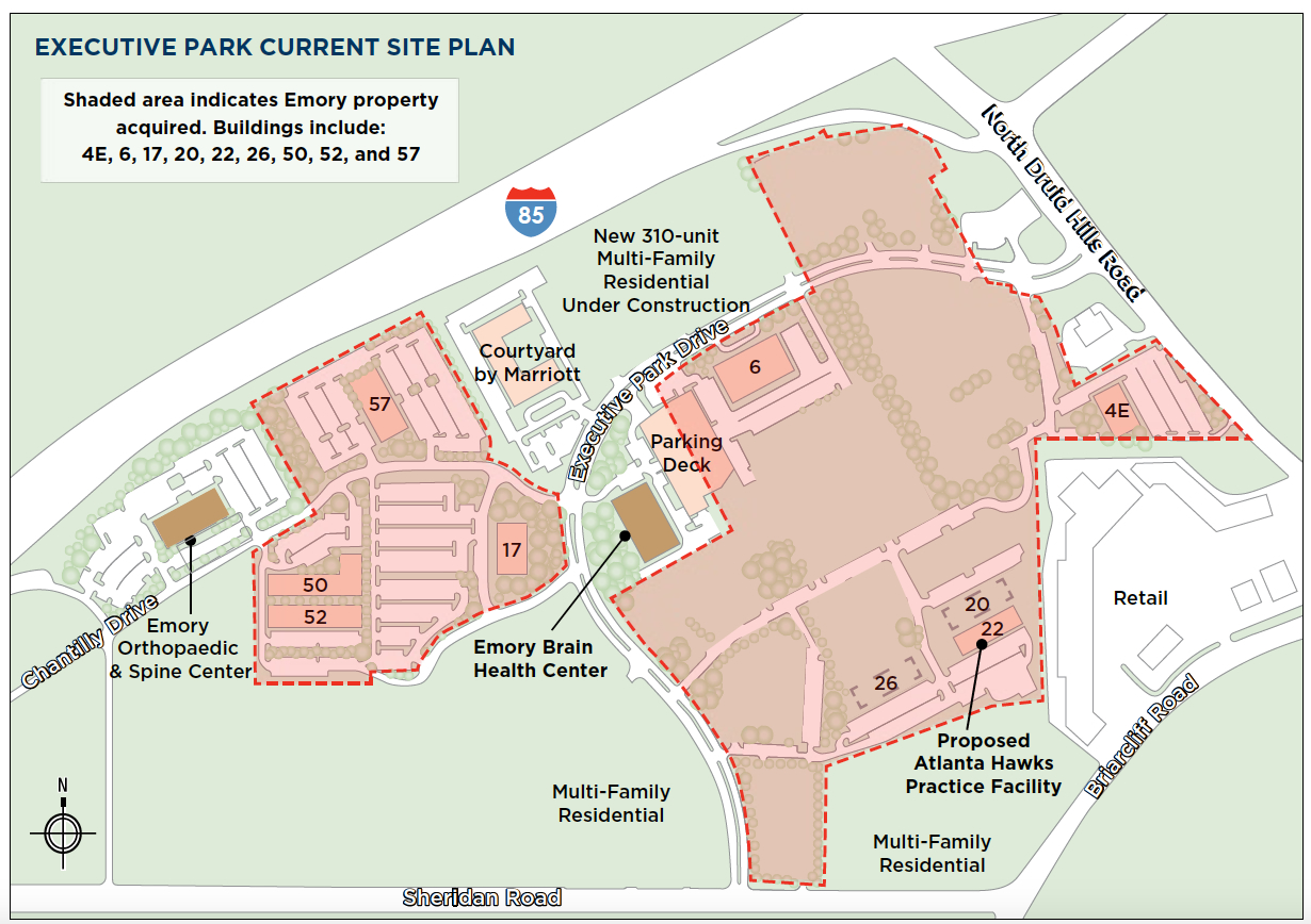 Emory university announces purchase of executive park properties download 713 k publicscrutiny Images