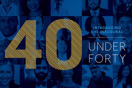 Eight Oxford alumni are included as Emory's class of 40 Under Forty.