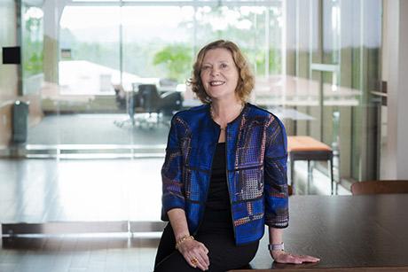 Emory President Claire E. Sterk