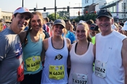 Peachtree Road Race cardiac arrest survivor runs 2018 race with physician who aided in saving his life