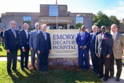 Emory Healthcare and DeKalb Medical celebrate new partnership with events and sign unveilings