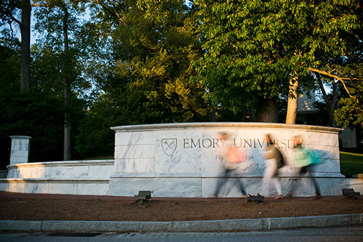 Five students are Oxford College Woodruff Scholars who will attend their first two years on Emory's original campus in Oxford, Ga.