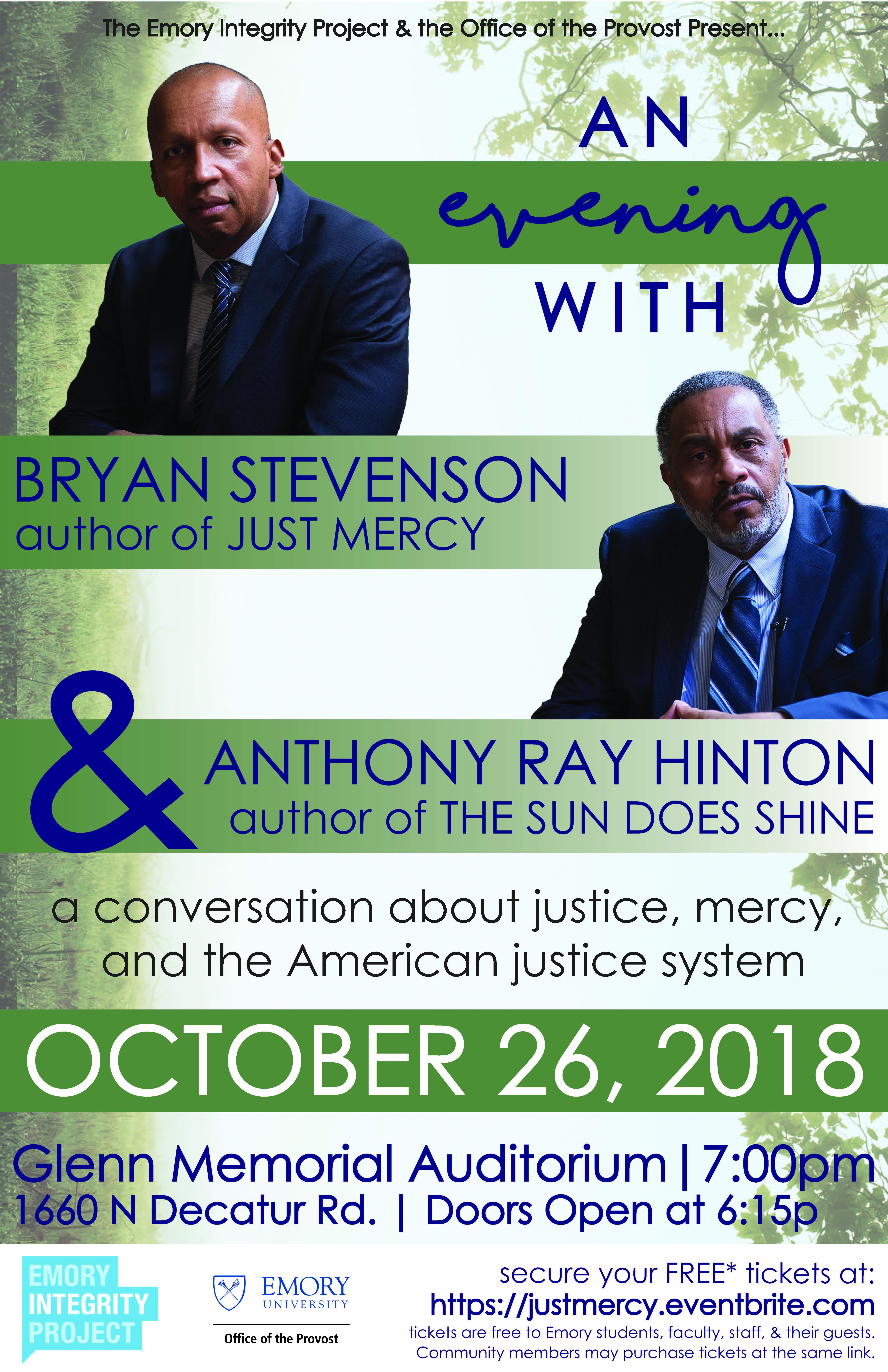 Activist Bryan Stevenson To Speak At Emory Emory University