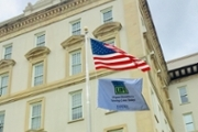 Emory holds flag raising ceremony for National Donate Life Month