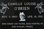 Remembrance ceremony honors Emory nurse who served in World War I