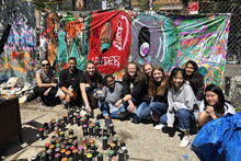 Oxford College students study art and social justice in New York City