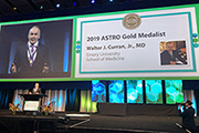Curran receives ASTRO Gold Medal