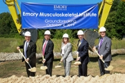 Emory Healthcare's new Musculoskeletal Institute groundbreaking ceremony marks step forward