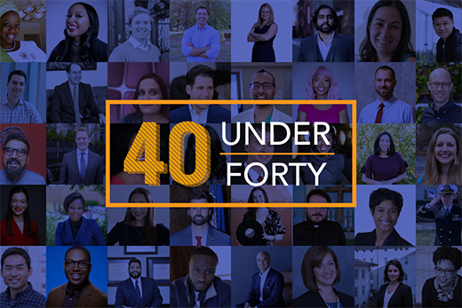 Meet this year's class of 40 Under Forty.