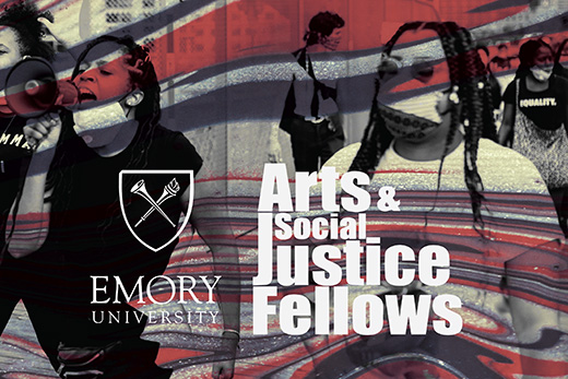 Six Atlanta artists came into Emory classrooms this semester, working with faculty to help students translate their learning into creative action and activism in the name of social justice. Learn about the work they created in an online showcase Dec. 15.