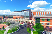 Emory Johns Creek Hospital expands vertically with addition of new floors, plus parking deck