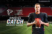 Atlanta Falcons support 'Crucial Catch' for breast cancer awareness